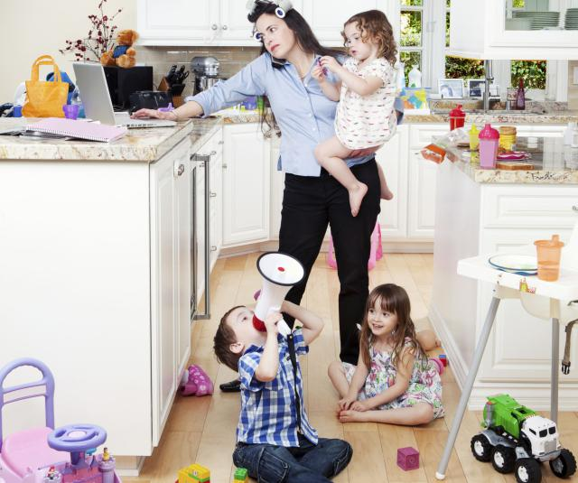 Reluctant Stay At Home Mom
