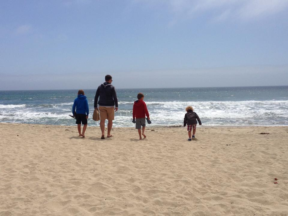 Half Moon Bay with Daddy