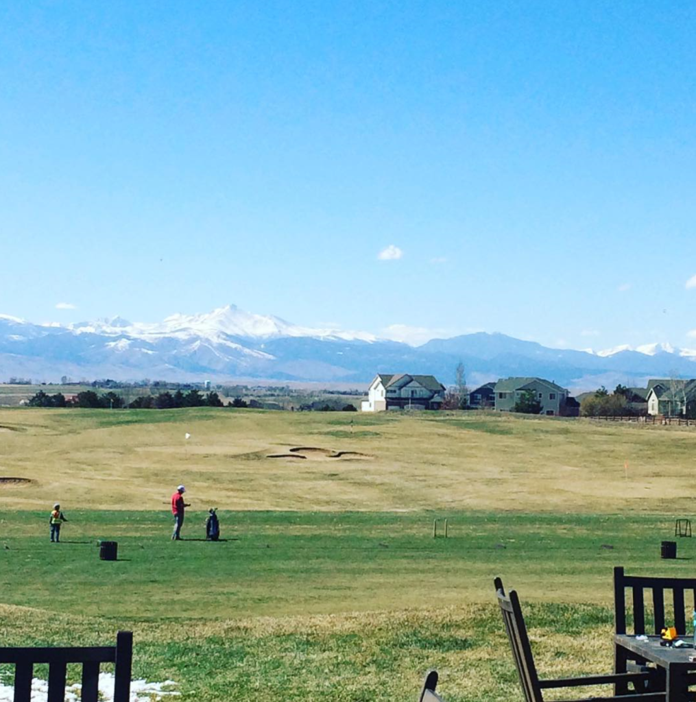 view of driving range