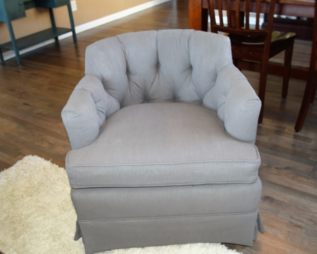 Front gray chair